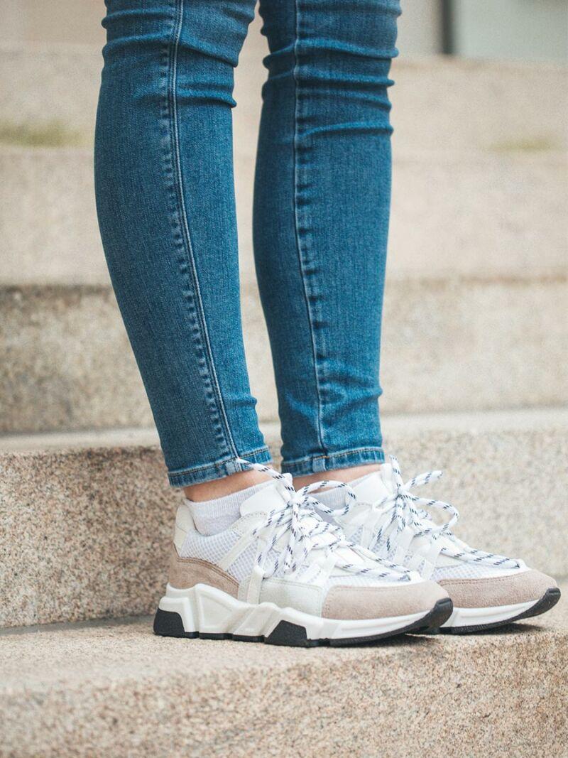 Sneaker DWRS weiß/beige 208213