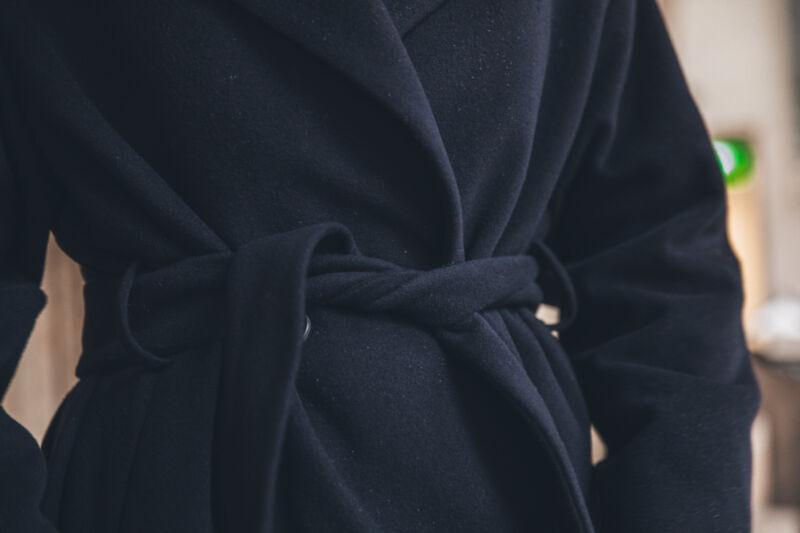cappellini Mantel dunkelblau 207119