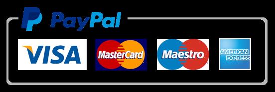 PayPal - Zahlung mit Kreditkarte